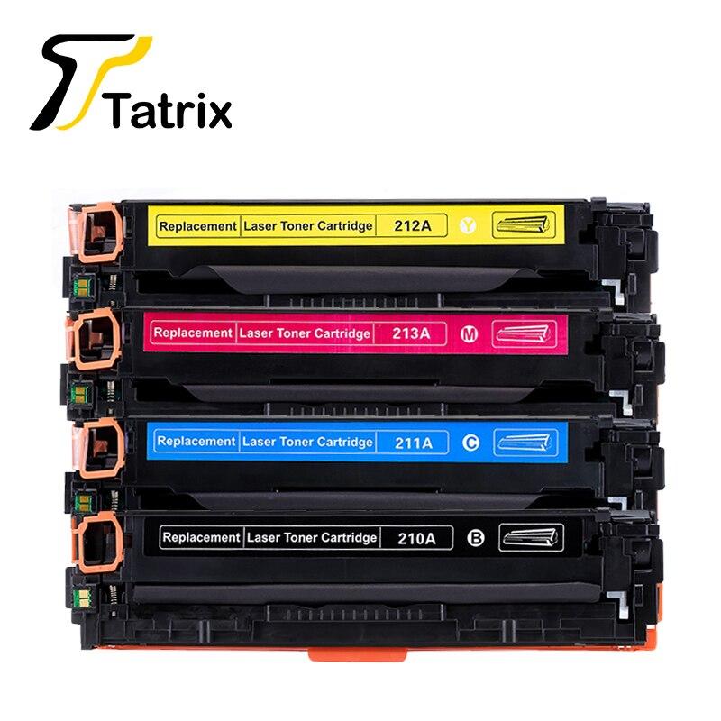 Pour HP 210 210A CF210A CF211A CF212A CF213A 131A De Toner cartouche Pour HP LaserJet Pro 200 couleur M251nw/Pro 200 couleur M276n/nw