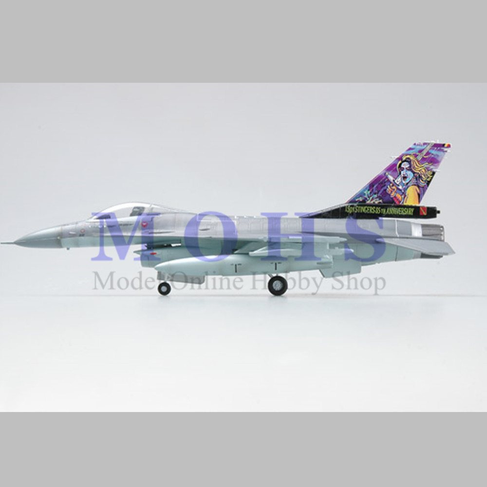 EASYMODEL scale model 37128 1/72 scale aircraft F-16A MLU BAF assembled model plane finished model  does not need to assemble model aircraft