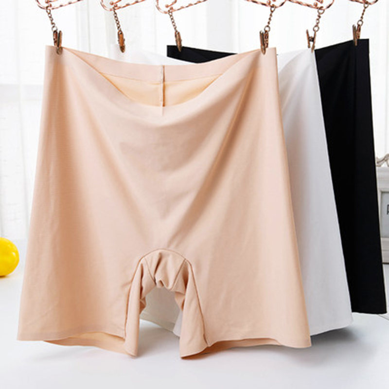 Summer Safety Short Sexy Under Skirt Shorts Seamless Tights Panties Boyshorts Girls Slimming Underwear Plus Size 4XL