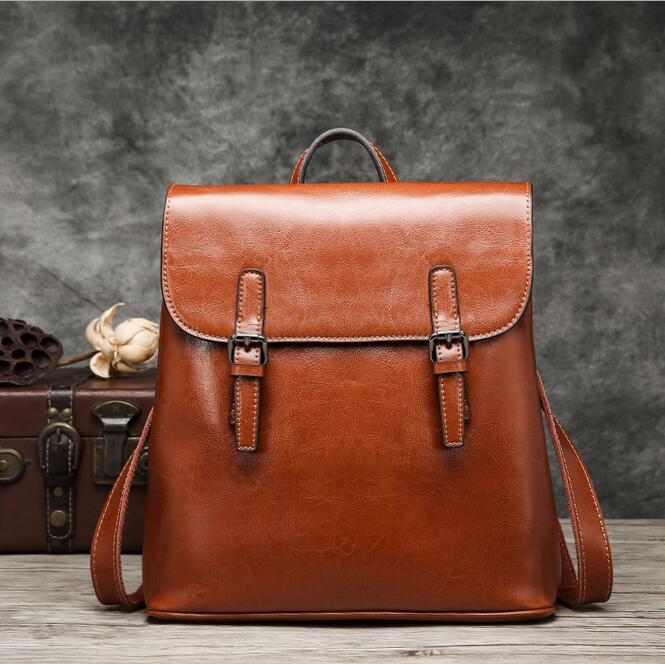 062217 women fashion double shoulder bag popular backpack