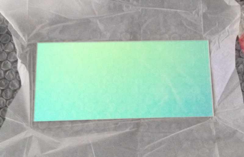 УФ принтер кварцевое стекло 4 шт 195 мм покрытие и 269 прозрачное с доставкой