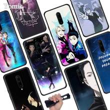 Yuri On Ice Black Soft Case for Oneplus 7 Pro 7 6T 6 Silicone TPU Phone Cases Cover Coque Shell