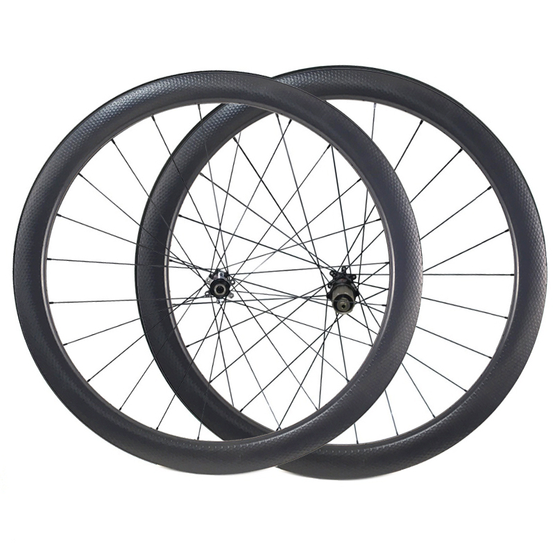 Carbon Dimple Wheels 25x45 Carbon Wheelset Disc Brake Wheels Clincher Tubular 700C Wheelset 791 792 Width 404 Carbon Wheel