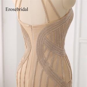 Image 5 - אלגנטי ארוך שמלת ערב 2019 חדש בת ים ואגלי ערב שמלת הלטר צבע robe דה soiree במלאי 48 שעה חינם ZC6 2