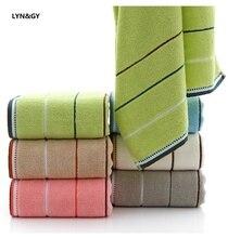 LYN&GY New 3PCS/Set 100% Cotton Towel Set One Piece 70*140cm Bath Two Pieces 34*75cm Face Towels Gift Bathroom