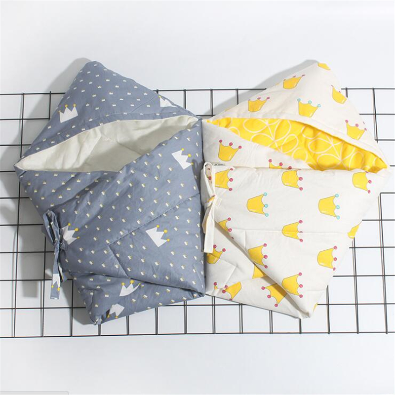 Soft Cotton Infant Swaddle Plush Bebe Envelope Stroller Wrap for Newborns Baby Bedding Blanket Toddler Sleeping Bag Sleepsack warm baby stroller sleeping bag fleece prams footmuff infant swaddle wrap envelopes for newborns baby blanket 4 colors sleepsack