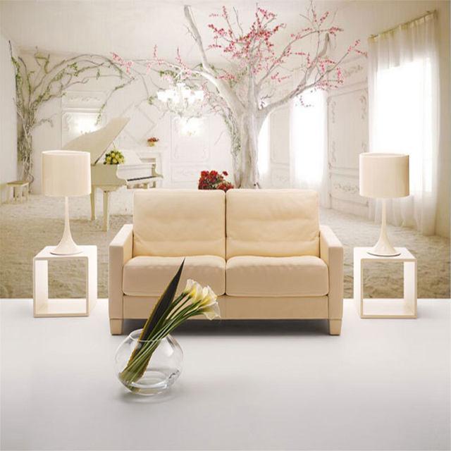 Online Shop Home Decor Carte Da Parati 3d Romantico Coperta Foto ...