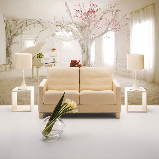 Modern Wall Paper Romantic Interior Photo Wallpaper Mural Papel