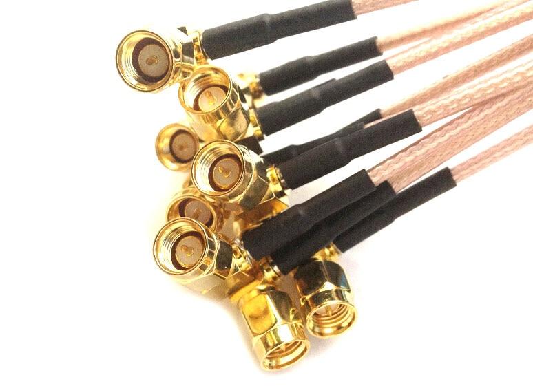 RF-antennikaabel 30cm RG316 P-SMA pikendus MCX-i - Sideseadmed - Foto 4