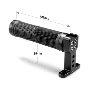 Image 4 - SmallRig Top Handle Non slip Handle Grip with Cold Shoe Base for DSLR Camera Cage Monitor Stabilizing Camera Grip Handle   1447