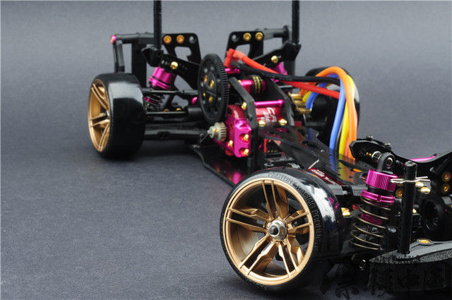 RC Car KIT 3 RACING CS D4 4WD Drift Frame Pro Pack with Complimentary Battery FREE SHIPPING