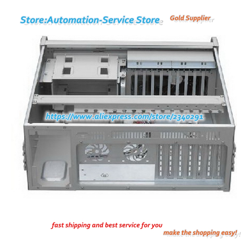 US $87 15 |4U case IPC360 computer case server case 2 hard disk PC  mainboard expansion slots-in Screens from Consumer Electronics on  Aliexpress com |
