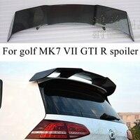 Golf 7 MK7 Revozport Стиль углеродного волокна авто спойлер на крыше автомобиля крыло для Volkswagen VW Golf VII Golf7 GTI R