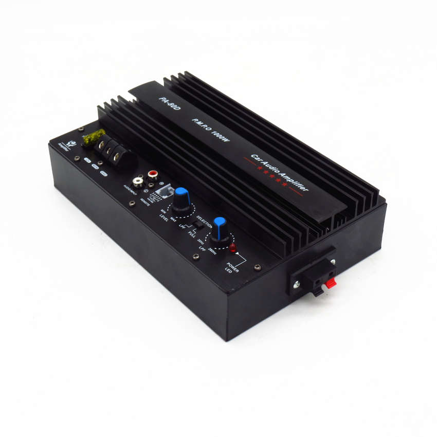 High Power 1000W Car Audio Amplifier 12V 12inch Car Subwoofer Amplifier Board With Installation Box Mono pure bass Car Amplifier power audio 4channels amplifier blue board amplifier with 3300uf capacitors