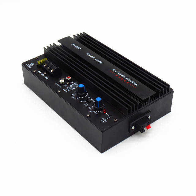 High Power 1000W Car Audio Amplifier 12V 12inch Car Subwoofer Amplifier  Board With Installation Box Mono pure bass Car Amplifier