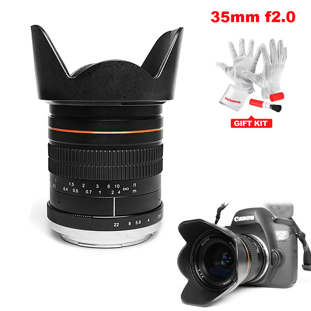 Aliexpress.com : Buy Kelda 35mm F2.0 Full Frame Fixed focus Large ...
