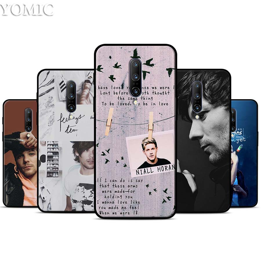 Louis Tomlinson Silicone Case for font b Oneplus b font font b 7 b font 7Pro