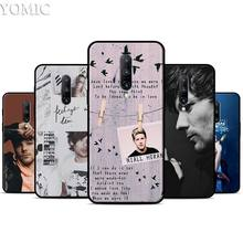 Louis Tomlinson Silicone Case for Oneplus 7 7Pro 5T 6 6T Black Soft Case for Oneplus 7 7 Pro TPU Phone Cover
