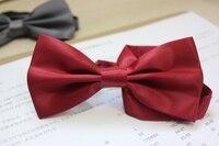 The Korean Business Men Dress Double Bow Tie Marriage Groom And Gentleman Style Collar
