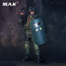 Full set 1/6 Scale Snow Leopard commando armed Collections action figure with weapons for collection