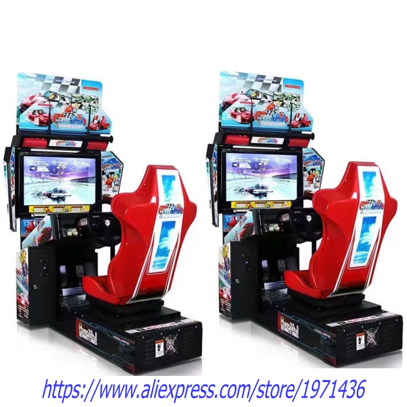 Amusement Equipment Outrun Coin Operated Video Arcade Machine Driving Simulator Car Racing Games baby air hockey coin operated ticket redemption games for play center