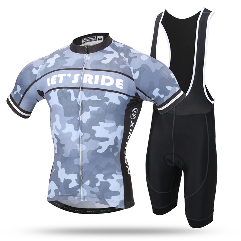 все цены на XINTOWN Cycling Jerseys MTB Bicycle jersey Set Mountain Bike Clothing Short Sleeve Cycling Clothing Ropa Ciclismo Bike Bib Short онлайн