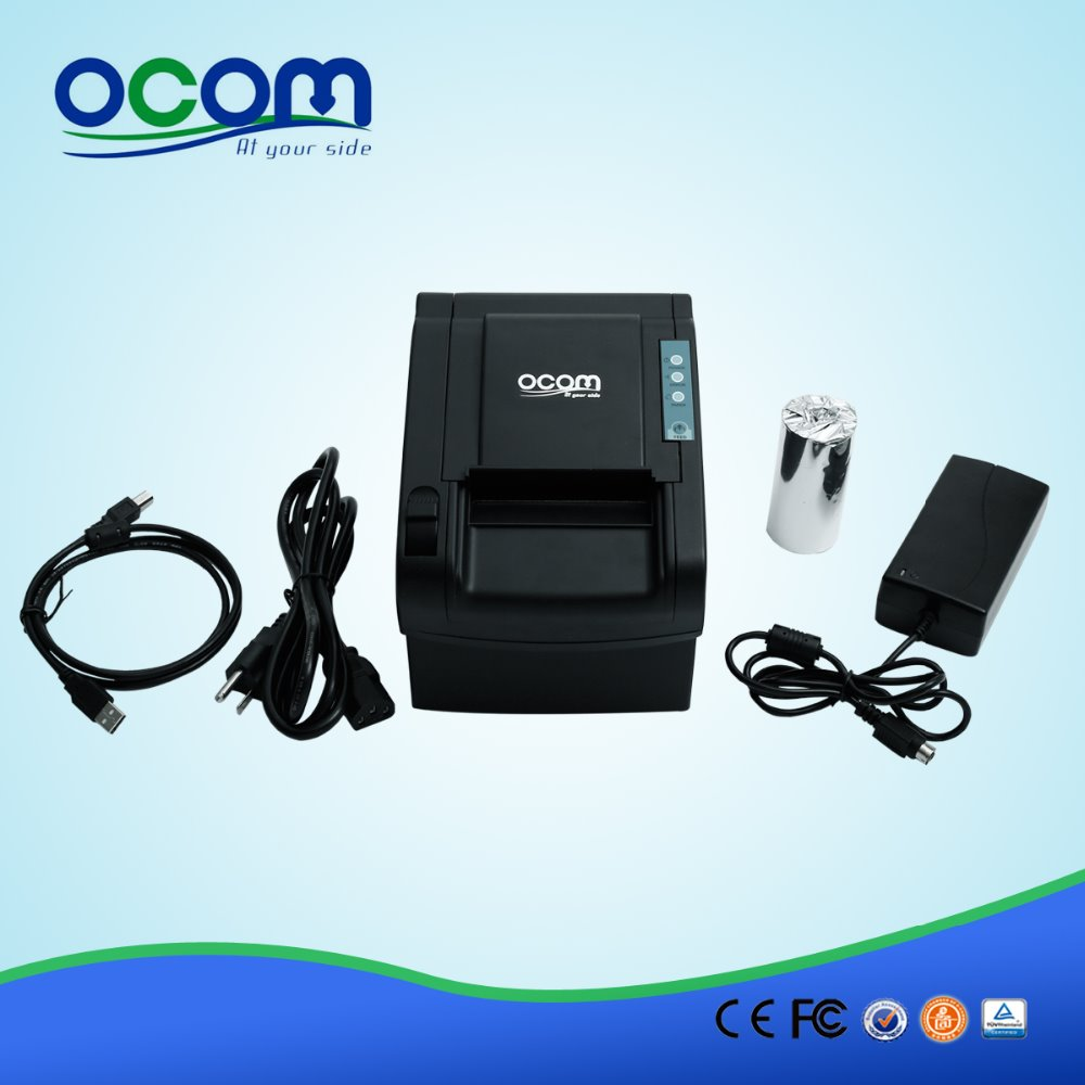 (Serial Port) Best Price 80MM Desktop Direct Thermal Printer for Bill/Ticket/Receipt  (OCPP-802) serial port best price 80mm desktop direct thermal printer for bill ticket receipt ocpp 802