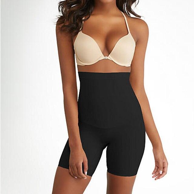 c7be1378b6 YUMDO Firm Control High Waist Thigh Shaper Tummy Control Body Shaper Butt  Lifting Slimming Seamless Shapewear For Women