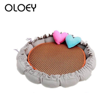 купить Original Pumpkin Nest Cat Dog Bed Mat Warm Pet House Kennel Sofa Cute Soft Pet Mini House Cage for Small Medium Dogs Cats Bed по цене 190.07 рублей