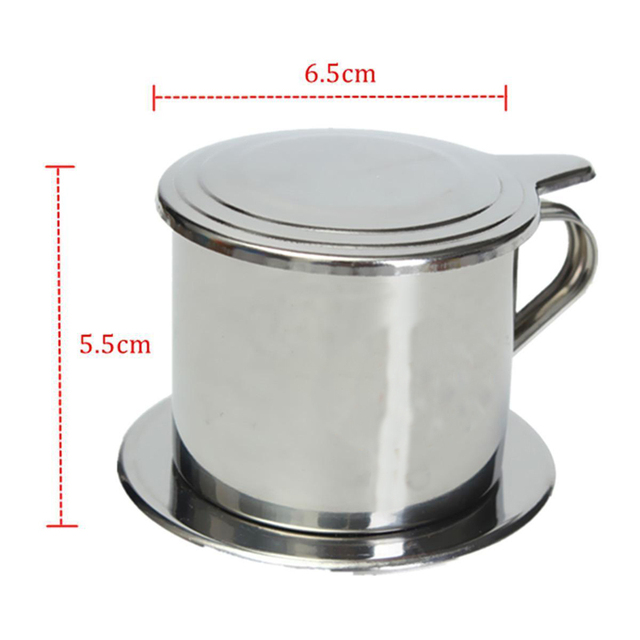 Stainless Steel Coffee Drip Filter Pot Maker Infuser Strainer Cup Set For Coffeeware Tools 5