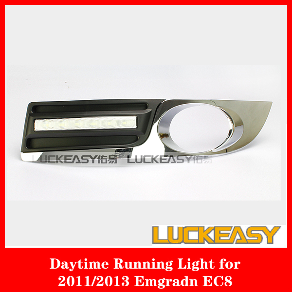 ФОТО  GEELY EMGRAND EC8 2011/2013 led drl cover top quality super bright GEELY EC8