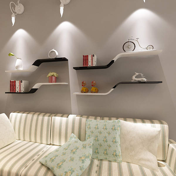 US $41.6 |1pcs Wall Bookshelf Wall Mounted Shelf Sitting Room TV Floating  Shelves Decorative Shelves L19.6 inch x W5.9 inch(L50cm x W15cm)-in Party  ...