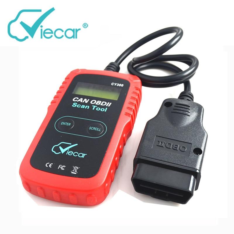 Viecar CY300 Scanner Diagnose Auto OBD Diagnose-Tool Super Multifunktions Autoscanner OBD Device Support Alle 9 Obd-protokolle