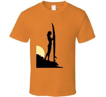 Sun Beach Surf Vacation Life Peace Love Surfing Fan T Shirt    Cool Casual pride t shirt men Unisex Fashion tshirt free shipping