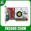 Nvidia grpahics карты AGP видеокарта FX5500 256 МБ 128bit ddr