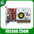 nvidia grpahics cards AGP video Card FX5500 256mb 128bit ddr