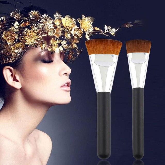 Bellezza professionale cosmetici pro 163 piatto pennello di contorno faccione miscela brushs trucco pinceaux maquillage y1