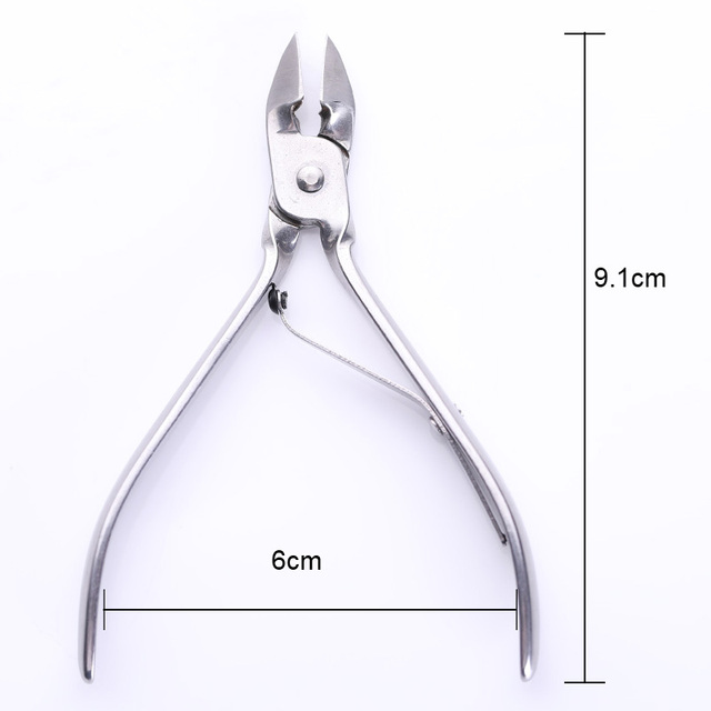 Nail Cuticle Cutter Nipper Clipper Dead Skin Remover Trimming Cutter Pedicure Stainless Steel Professional Nail Art Care Tools