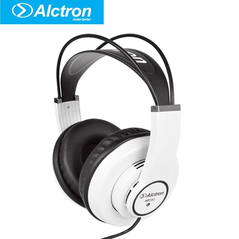 цена на Alctron Professional Monitor Headphone dj studio headphone Hifi Stereo Music Earphone portable and fashionable