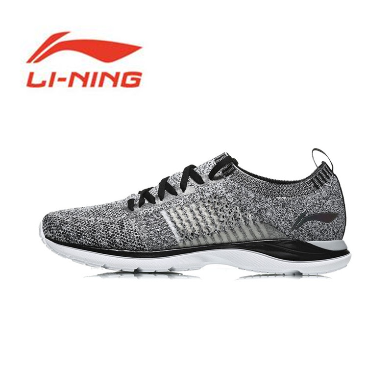 Li-Ning Hommes Super Léger XV Chaussures De Course Léger Respirant Sneakers Mono Fil Li Ning Sport Chaussures ARBN009 Y