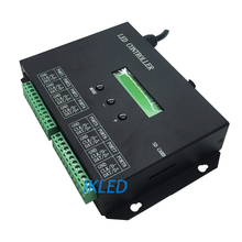 led 8 ports timing controller,drive max 8192 pixels,play files by schedule,support dozens of led chips,exclusive PC software