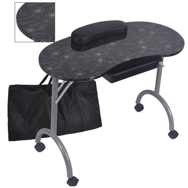 2 Colors Manicura Nail Art Foldable Table Pedicure Set De Manicura ...