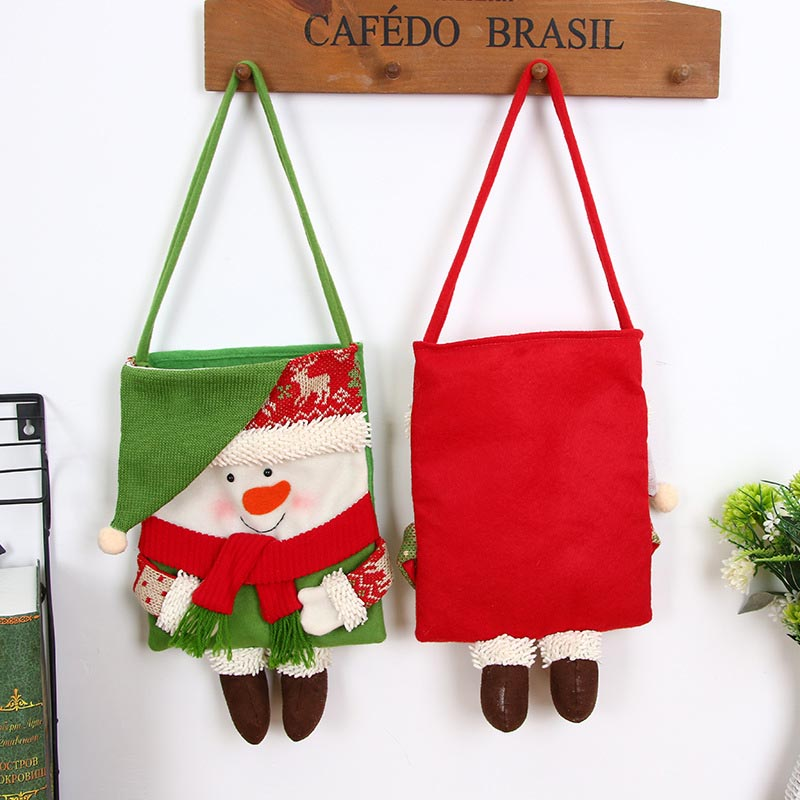 Hot Sale Merry Christmas Candy Bags Christmas Tree Gift ...