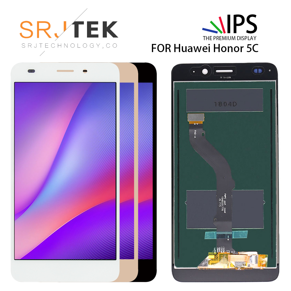 For <font><b>Huawei</b></font> <font><b>Honor</b></font> 5C LCD <font><b>Display</b></font> with Frame <font><b>Honor</b></font> <font><b>7</b></font> <font><b>Lite</b></font> LCD <font><b>Display</b></font> Digiztizer For <font><b>Huawei</b></font> GT3 Assembly Replacement Repair Parts image
