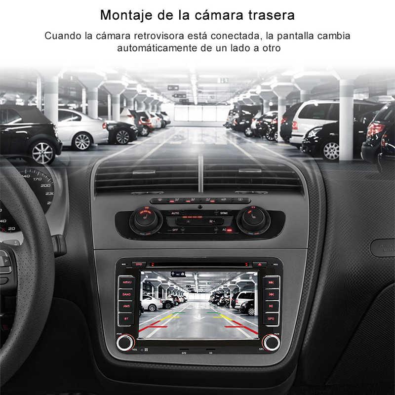 "Radio para coche Junsun 2 din 7 "", Seat Altea reproductor Multimedia de DVD para 2004-2015 Toledo 2004-2009, navegación GPS, audio para coche"