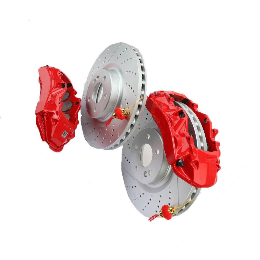 Высокая производительность хорошее качество 380 мм тормозные диски для AMG большой тормозной комплект Подходит для Audi A3 передний (6 P) 2006 2013