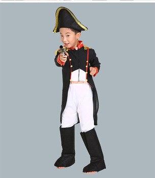 2019 ילדי ילד קולונל אופי סרט קצין קוספליי תחפושת לוחם ילדים ליל כל הקדושים קרנבל מסיבת תחפושות