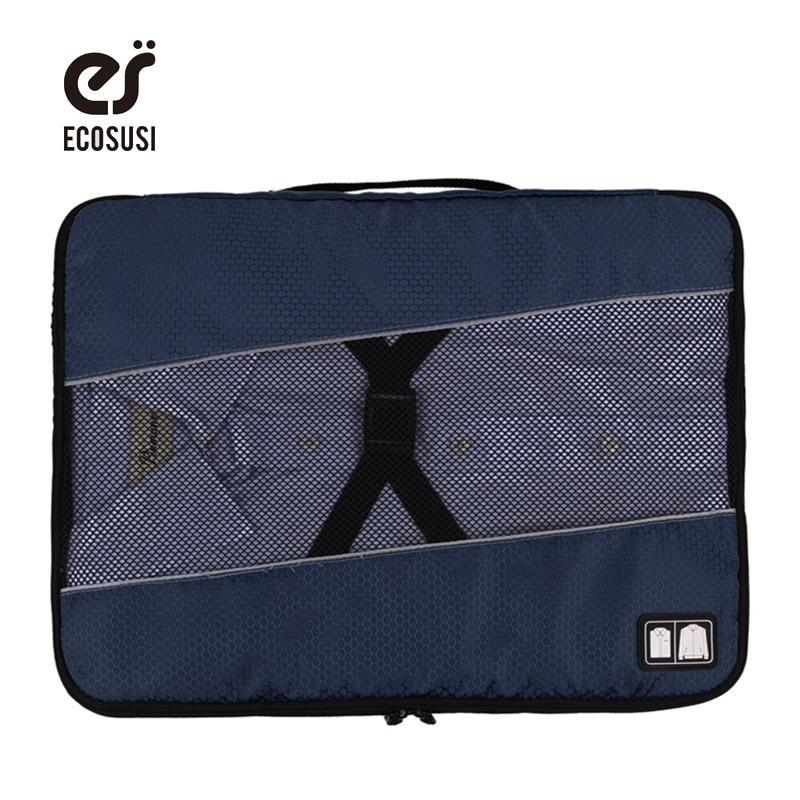 ecosusi Kvinnor eller herr resväskor Clotch förvaringsväska för - Väskor för bagage och resor - Foto 1