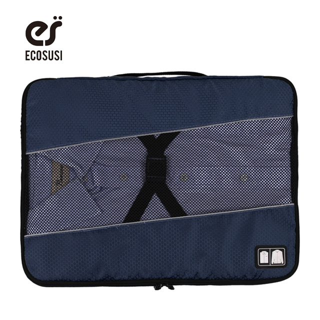 2f04a179e0f4f ecosusi Women Or Men s Travel Bags Clotch Storage Bag For 1-5pcs Clothes Travel  Accessories Packing Bag Make Tidy Suitcase