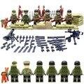 Band of Brothers Legoelied Guerra Mundial EE.UU. Ejército Comando Arma Arma CS SWAT Militar Soldado Bloques de Construcción de Juguete de Regalo